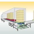 食品工場におけるトラックヤード周辺の合理化装置のご提案 製品画像