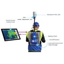 背負って歩くだけで周囲の3Dデータを取得!レーザースキャナー 製品画像