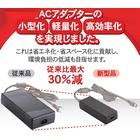 【世界最小級】ACアダプター業界トップクラスの小型化を実現! 製品画像