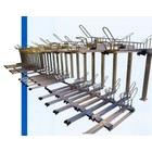 駐輪ラック 2段式サイクルラック:AL-21GS+ALS-220 製品画像