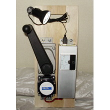 手回し発電機 DC30Vメーター 製品画像