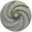 ヘアライン(HL)で作られたタービン羽根 製品画像