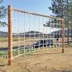 木製遊具 くもの巣ネット W-601 製品画像