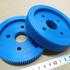樹脂・プラスチック/MC901(MCナイロン)/歯切り加工 製品画像