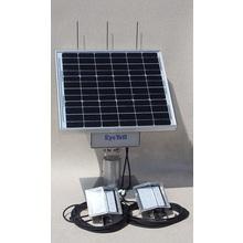 バッテリー搭載式ソーラーLED外灯:循環型社会の事故・防犯対策に 製品画像