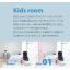 【ジップレールスクリーン施工事例】キッズルーム 製品画像