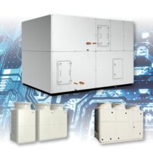空冷直膨式 ツインサイクル形低温外調機 製品画像