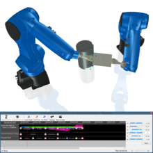 IRONCADのロボットシミュレータ『icROBOSim』 製品画像
