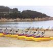 水上遊具・海上遊具『カタマランサイクル』 製品画像