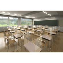 ウイルス対策グッズ『教室用飛沫防止スクリーン』 製品画像