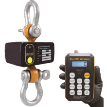 超軽量・高性能 無線式ロードセル(吊りはかり)Ron2501-S 製品画像