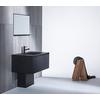 金属の重厚な質感をスマートに活かした洗面台 センシー洗面 製品画像