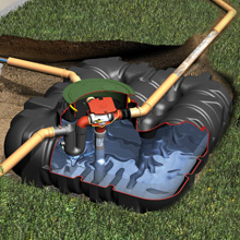 地下埋設型 雨水タンク「アンダータンク」1500L~5000L 製品画像