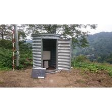 コルゲートパイプを利用した観測機器の収納庫 製品画像