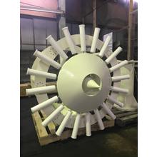【加工例】縦渦型リニアドライブを使用した風力発電機 製品画像