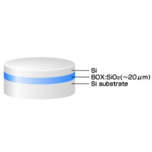 SOIウェーハ『Thick-BOX SOI』【厚いBOX層!】 製品画像