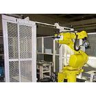 工場の自動化・省力化・FA等 【納入例】走行軸付きロボット 製品画像