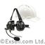 【密閉タイプのヘルメット装着型】ヘッドセット LA-455 製品画像
