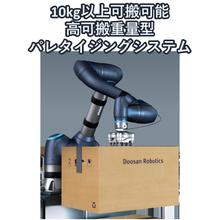 パレタイザー『協働ロボットパレタイジングシステム』 製品画像