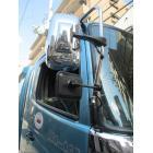 トラック用平面ミラー丸棒タイプ「FB-18K」角型 黒 製品画像