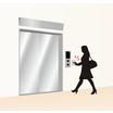 ボタンを押さずにエレベーターを呼び出す!ホトロンの非接触スイッチ 製品画像