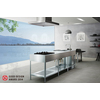 シンプルデザインが際立つフレームキッチン OSSO  オッソ 製品画像