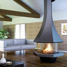 フランス製薪用フード型暖炉「エオリア 907」センターモデル 製品画像