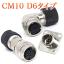 サーボモーター用小型防水コネクタ【CM10 D6】DDK製 製品画像