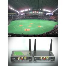 技術資料 【映像・音声・専用非圧縮無線機の開発】 事例紹介! 製品画像