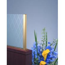 スクリーンポール JP角型 パーテーション 間仕切り 真鍮金物 製品画像