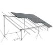 【太陽光発電システム架台】横置き野立て向け 製品画像