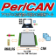 PeriCAN -アナログ⇔CAN変換可能なCAN解析ツール- 製品画像
