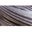 特殊加工で表面を滑りにくくしたメッキ鉄線 製品画像
