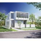 手すり 日本建築の竹垣をアルミで再現した手すり『GLIMPSE』 製品画像