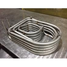 【板金加工事例】 配管溶接 熱交換器 製品画像