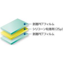 高耐熱シリコーン系基材レス粘着シート『MHM-SIシリーズ』 製品画像