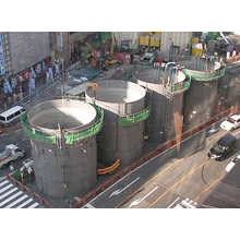 円形組立タンク(37~1,800m3)※レンタル 製品画像