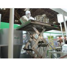 水洗いできて衛生的なシザーリフト ※食品業界で大注目! 製品画像