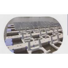 水上設置型 太陽光発電架台 設計製造 製品画像