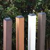 腐らない人工木!ラティス設置の必需品「人工木60角ポスト」 製品画像