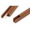 木目調アルミの支柱に『柱材(壁用)チーク』 製品画像