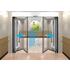 医療・福祉施設向けドア『自動折り戸』 製品画像