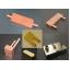マイクロチャンネル方式水冷 銅ヒートシンク 製品画像