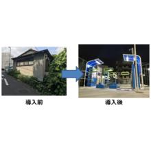 【導入事例】鴨居駅前千代松駐輪場 製品画像