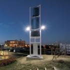 風力発電機『ハイブリッド街路灯(独立電源)』 製品画像