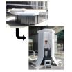 備蓄型組立式個室トイレ『ほぼ紙トイレ』【処分がそのままできる!】 製品画像