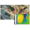 ドローンを使った空から行うゴルフ場管理 製品画像