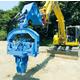 油圧ショベルアタッチメントバイブロハンマ『LHVシリーズ』 製品画像