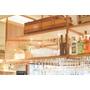 「メタルメッシュパネル」のキャビネット&什器装飾施工事例 製品画像