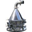 【分級機】旋回気流式ふるい分け装置 スピンエアーシーブ 製品画像